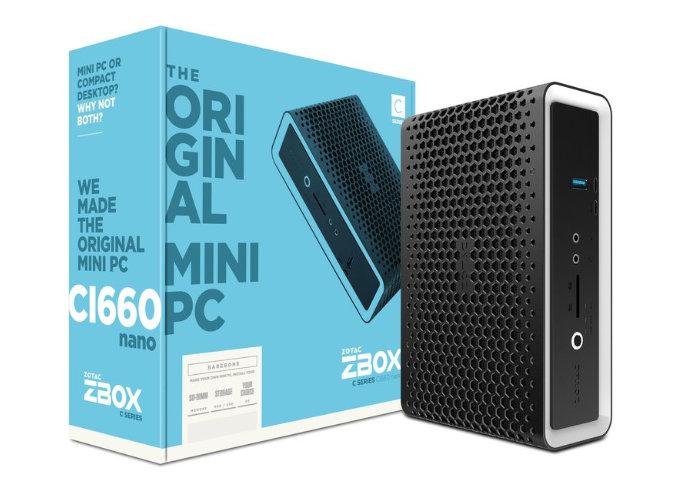 Zotac ZBOX CI660 nano mini PC