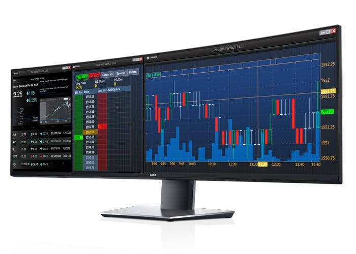 curved ultra-wide monitor