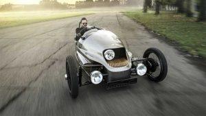 Morgan's electric three-wheeler goes dead