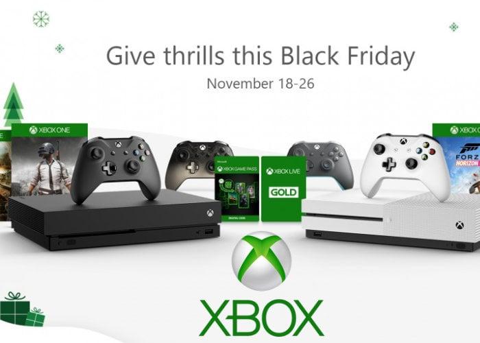 2018 Xbox Black Friday Deals