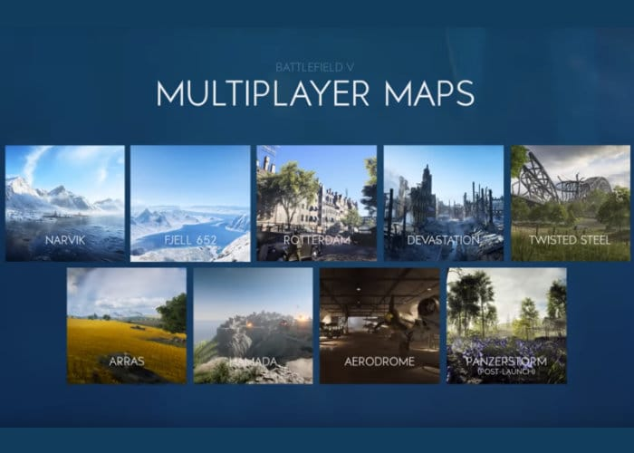 8 Battlefield 5 multiplayer maps