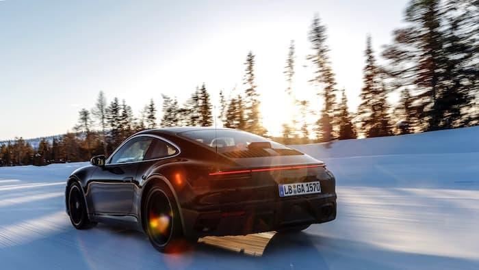 8th generation Porsche 9116