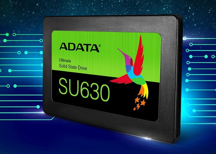 ADATA Ultimate SU630 3D QLC NAND SSD