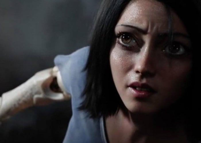 Alita Battle Angel 2019 movie trailer