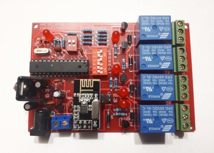 Arduino NRF24L01+ wireless transceiver shield