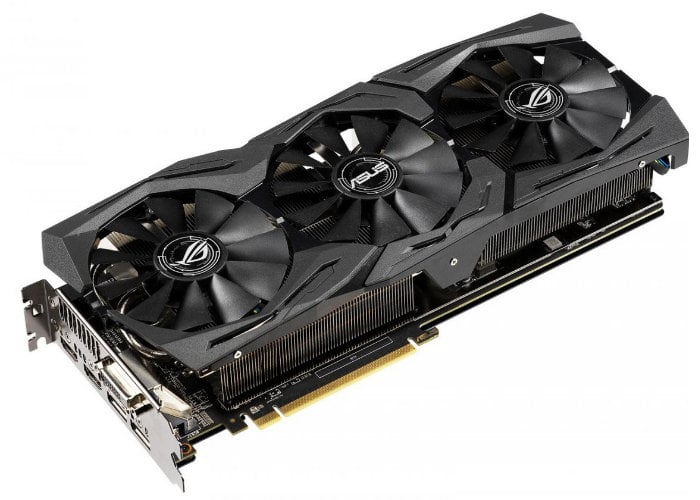 Asus ROG Strix Radeon RX 590 graphics card