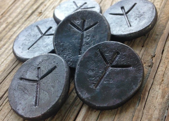 Awesome hand forged iron tabletop RPG tokens