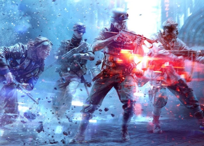 Battlefield V dynamic multiplayer world