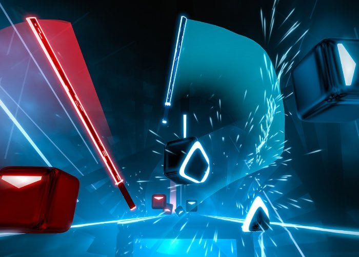 Rhythm slice-'em-up Beat Saber hits PlayStation VR this month