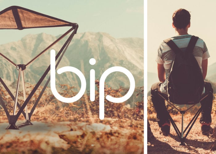 Bip foldable seat