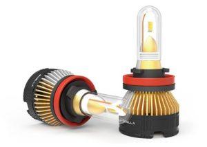 Boslla 4 Color car LED headlight bulb