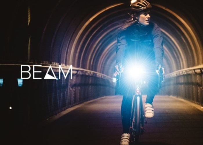 Beam and Icon 2 bicycle lights