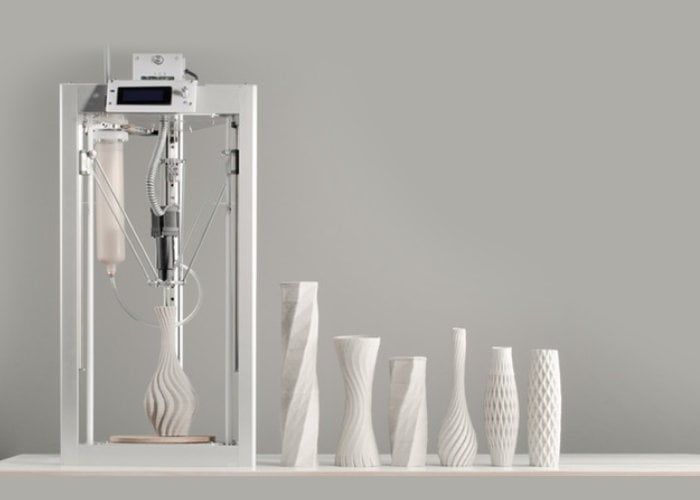 Cerambot ceramic 3D printer from $199
