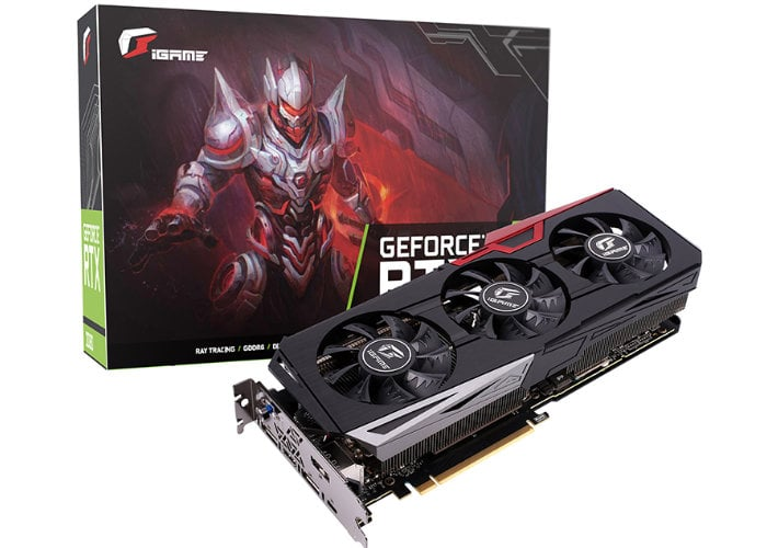 Colorful iGame GeForce RTX 2070 Ultra OC overclocked graphics card