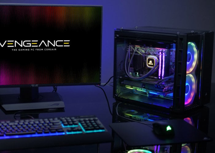 Corsair Vengeance 5180 RTX 2080 gaming PC