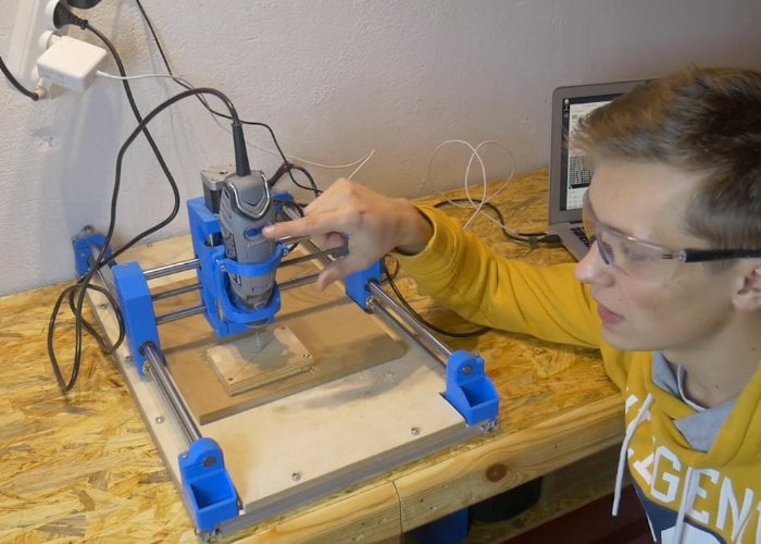 DIY Arduino CNC machine