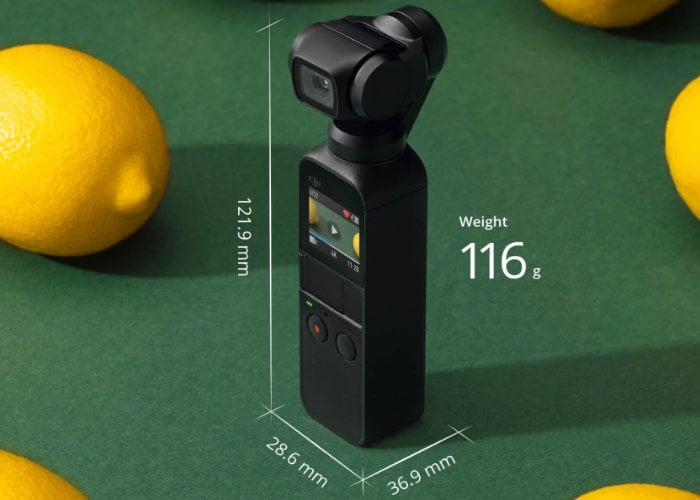 DJI Osmo Pocket 4K action camera