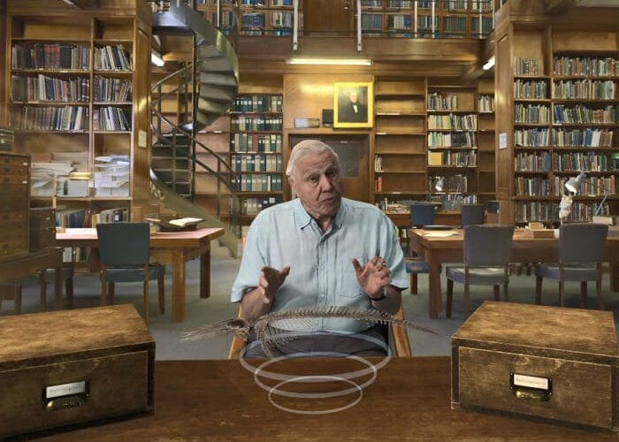 David Attenborough's VR experience Hold the World
