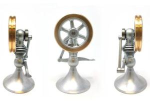 Dektop mechanical Treadle engine