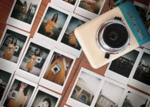 Escura hand powered instant camera from $48