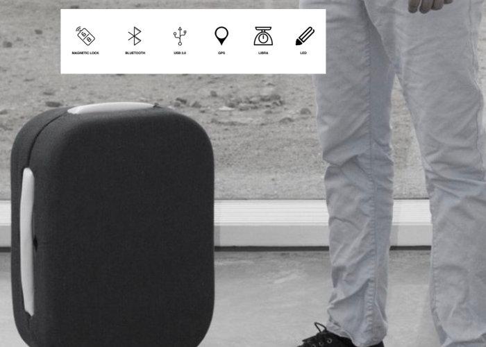 Follow me auto follow smart suitcase