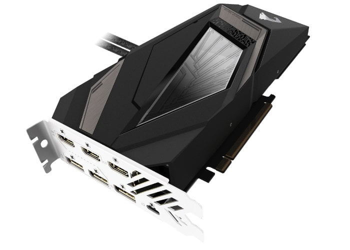 GIGABYTE GeForce RTX 2080 Ti Aorus WaterForce Xtreme AIO graphics card