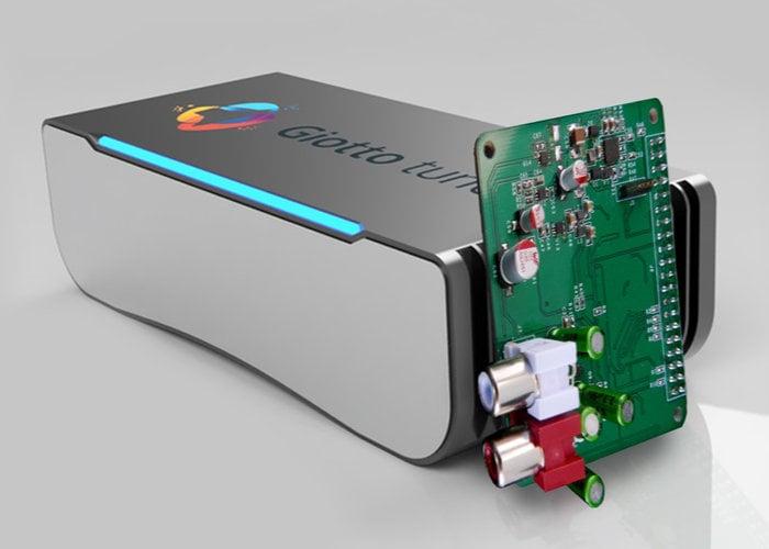 Giotto Tune Raspberry Pi DAC
