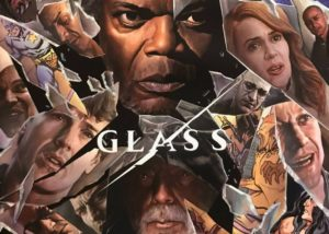 Glass super hero movie