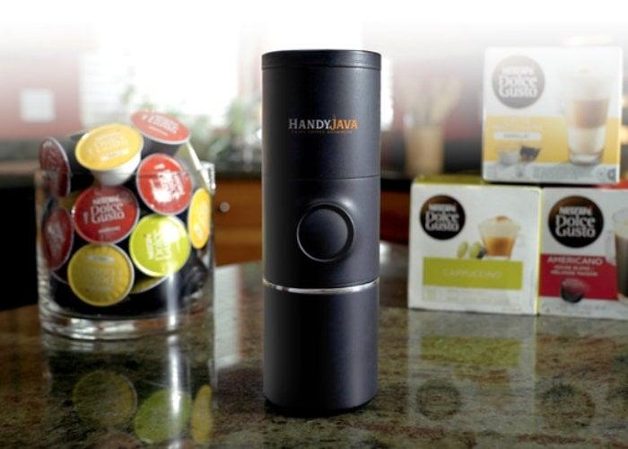 HandyJava portable capsule coffee machine