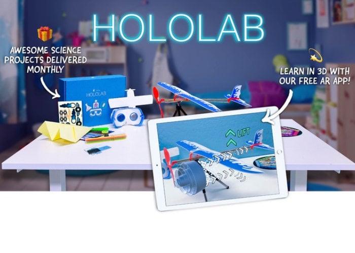 Hololab 3D learning experience hits Kickstarter