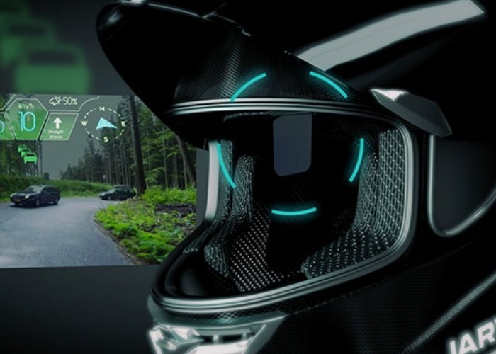 JARVISH smart motorcycle helmet