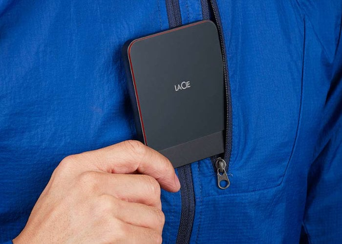 LaCie Portable SSD offers high performance to creatives