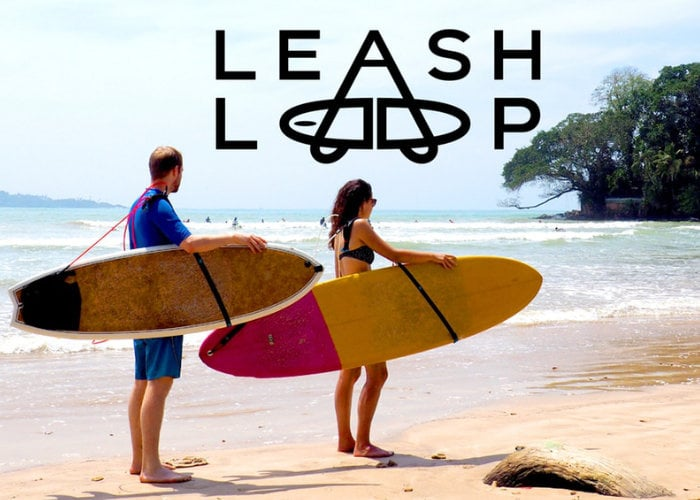 Leash Loop makes carrying your surfboard easy