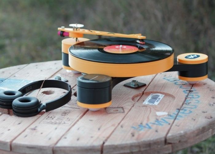 Lenco-MD 3D printed modular record player