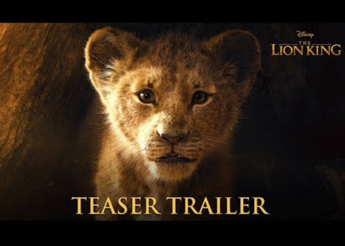 lion king 2019 movie trailer released by disney