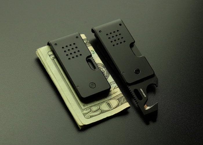 MARQ EDC money clip and multitool