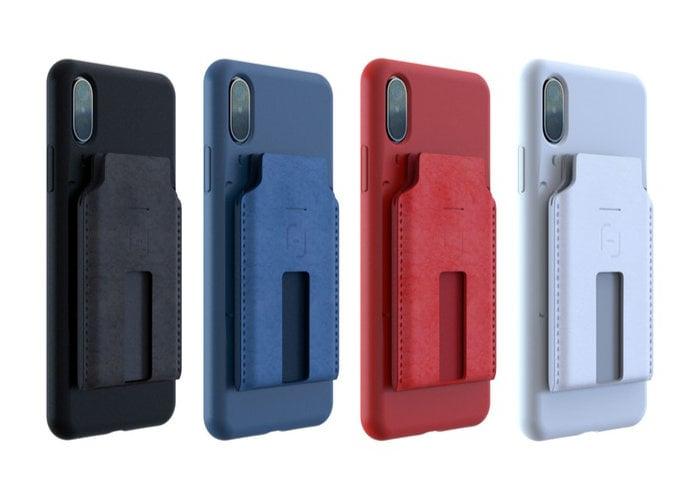 MagBak smartphone mounted wallet