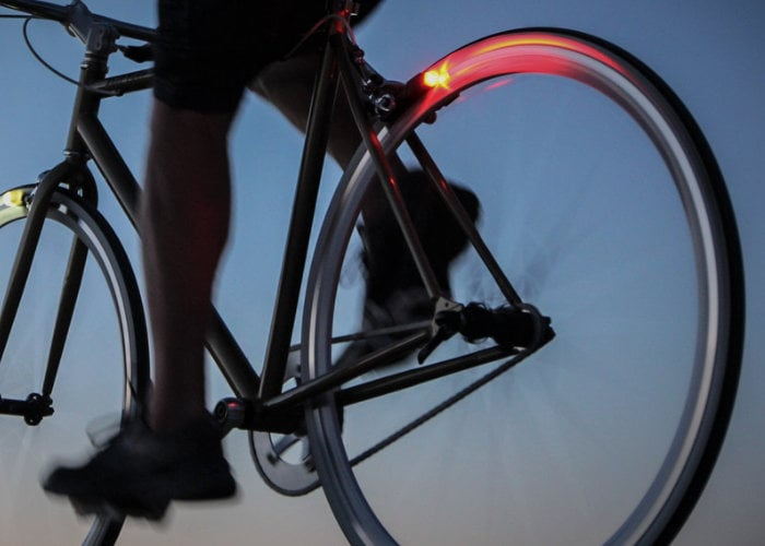 Magnic Microlights bicycle lights powered by motion