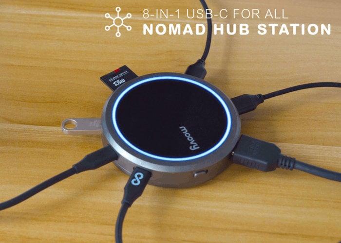 MoovyGo 8 USB-C hub