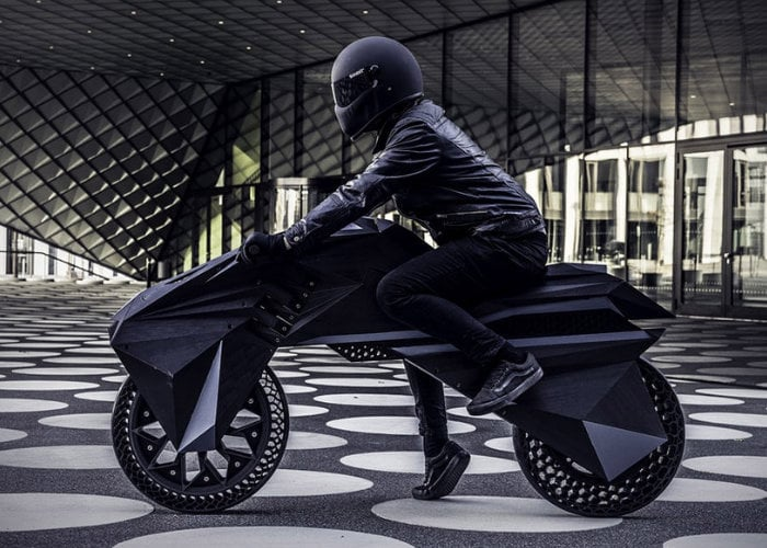 Nera 3D Printed electric motorcycle