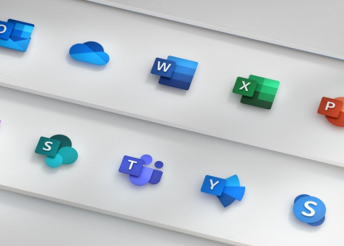 New Microsoft Office icons created to reflect cloud technology
