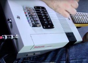 Nintendo NES guitar