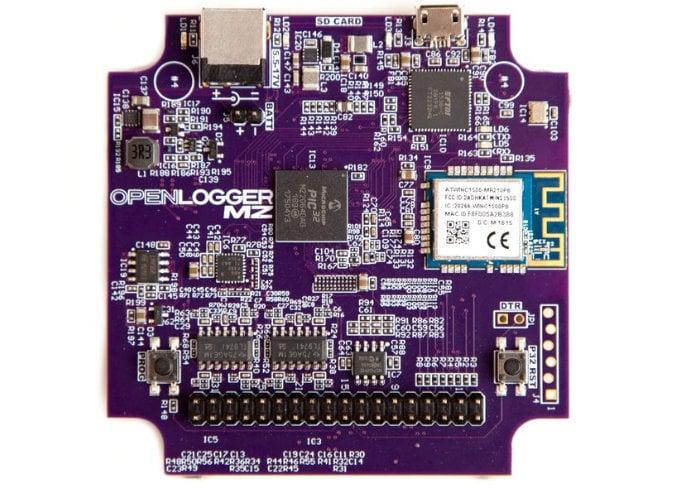 OpenLogger portable WiFi data logger