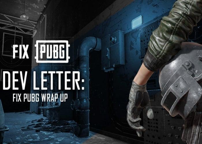 PUBG developer letter reveals plans for 2019