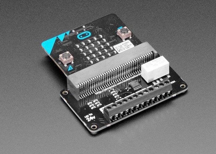 Pimoroni automation:bit for micro:bit arrives at Adafruit