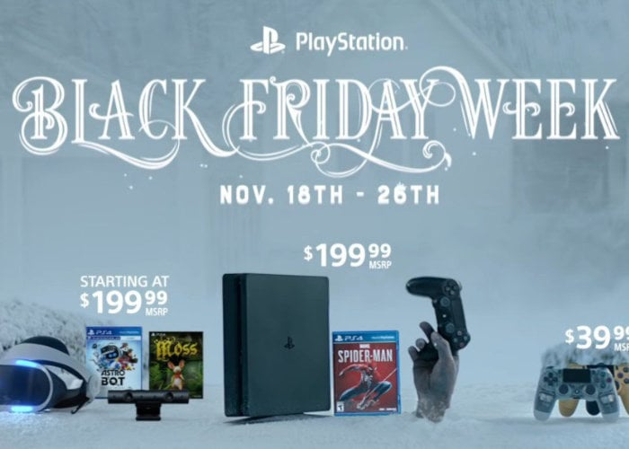 PlayStation Store's Black Friday discounts