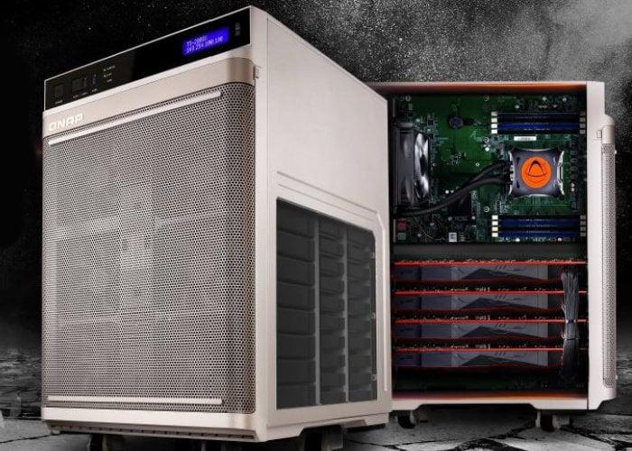 QNAP TS-2888X AI-ready network attached storage
