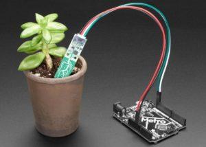 STEMMA capacitive soil moisture sensor