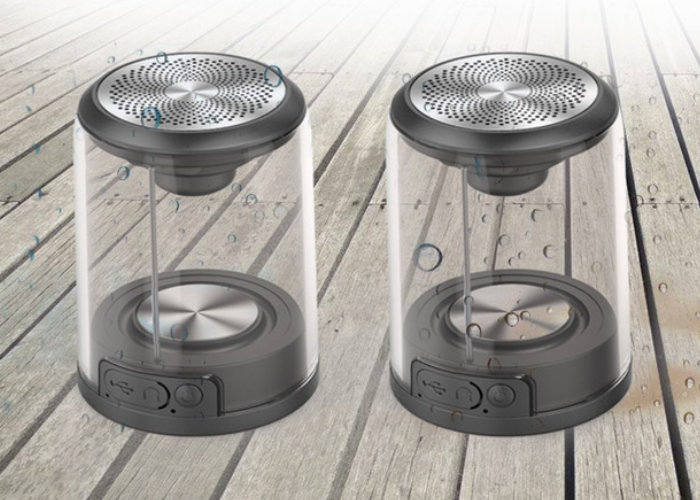 TWS transparent stereo wireless speakers