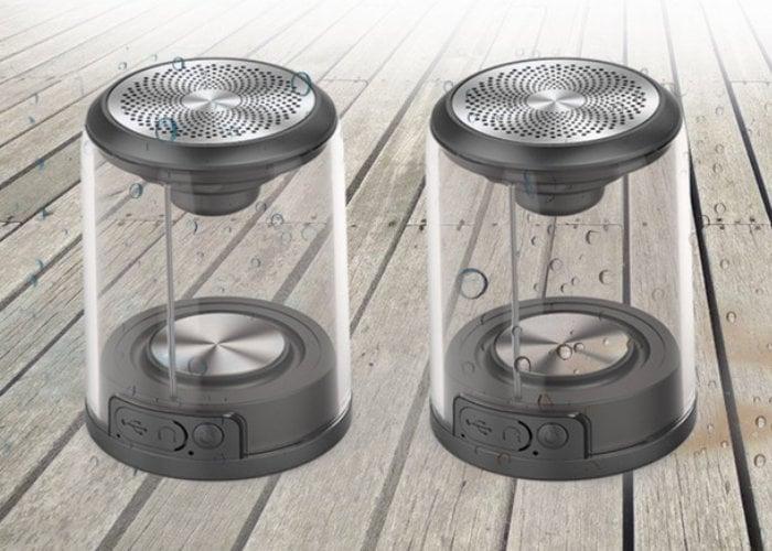 TWS transparent stereo wireless speakers